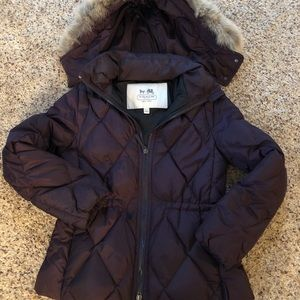 Coach down coat